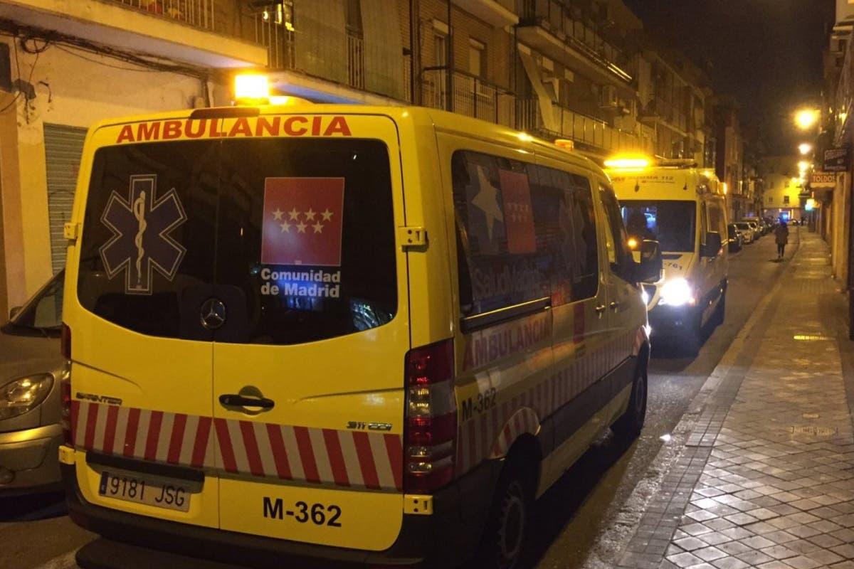 Un bebé y tres mujeres intoxicadas por monóxido de carbono en Madrid