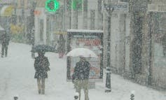 Desactivada la alerta por nevadas en Madrid