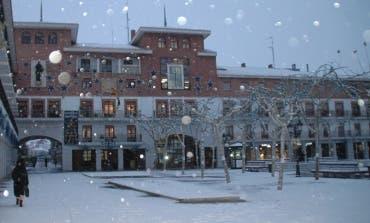 Si nieva, cuajaría más en la zona del Henares que en Madrid capital