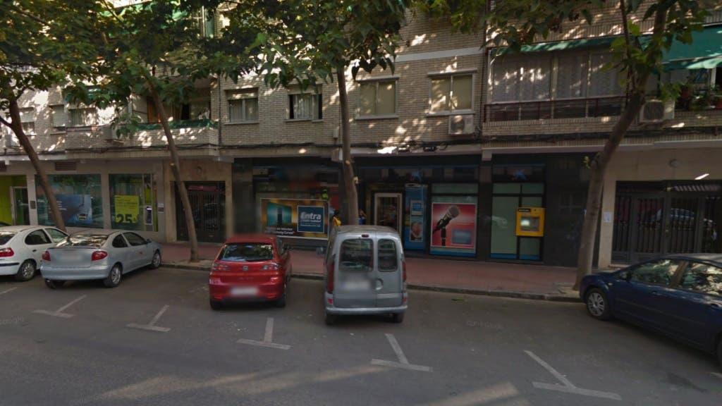Lugar en el que se encontraba el hombre apuñalado en Alcalá (Google Maps).