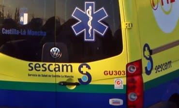 Herido grave en Guadalajara al ser atropellado por un ciclista