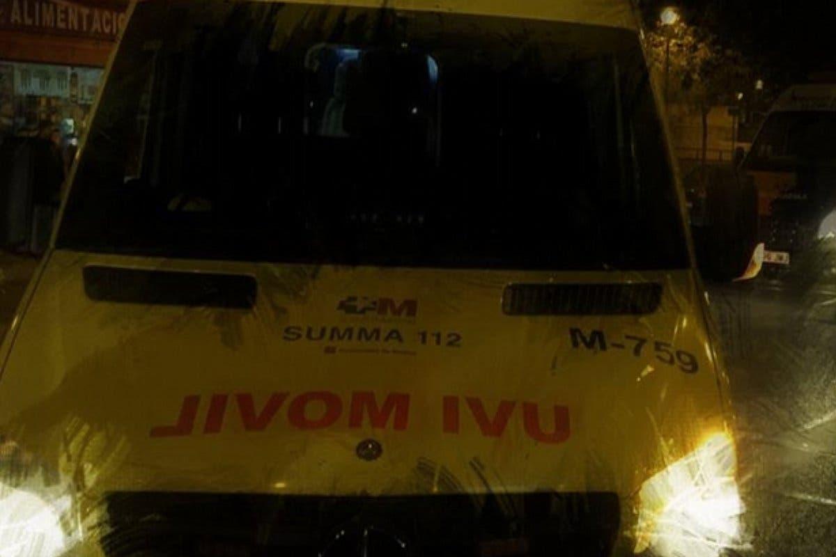 Muy grave un motorista tras chocar contra una piedra en la M-512