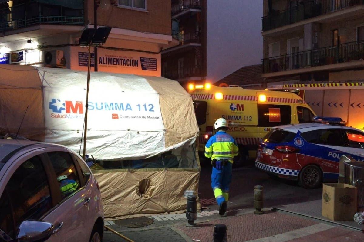Explosión en una vivienda en San Sebastián de los Reyes