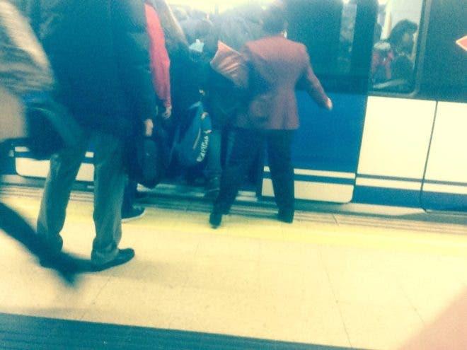 Uno de los supuestos empujadores del Metro de Madrid (El Mundo).