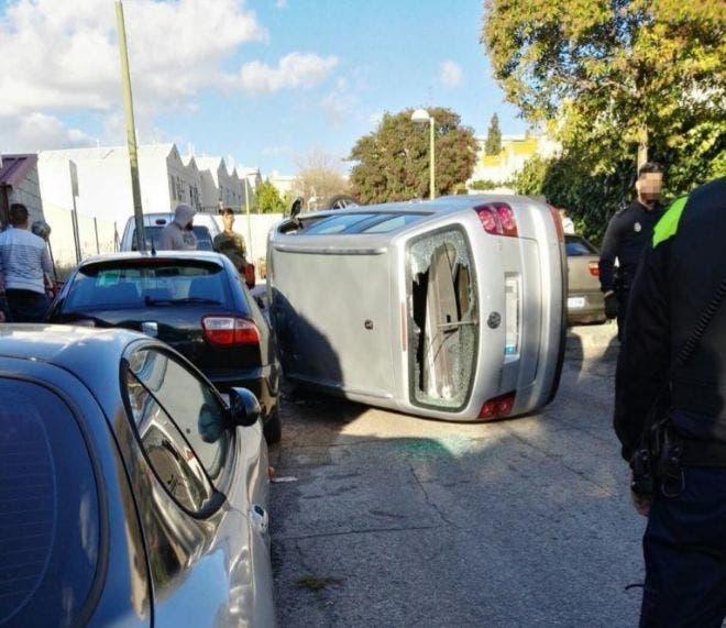 Detenido en Vallecas por liarse a tiros contra el coche de su vecino