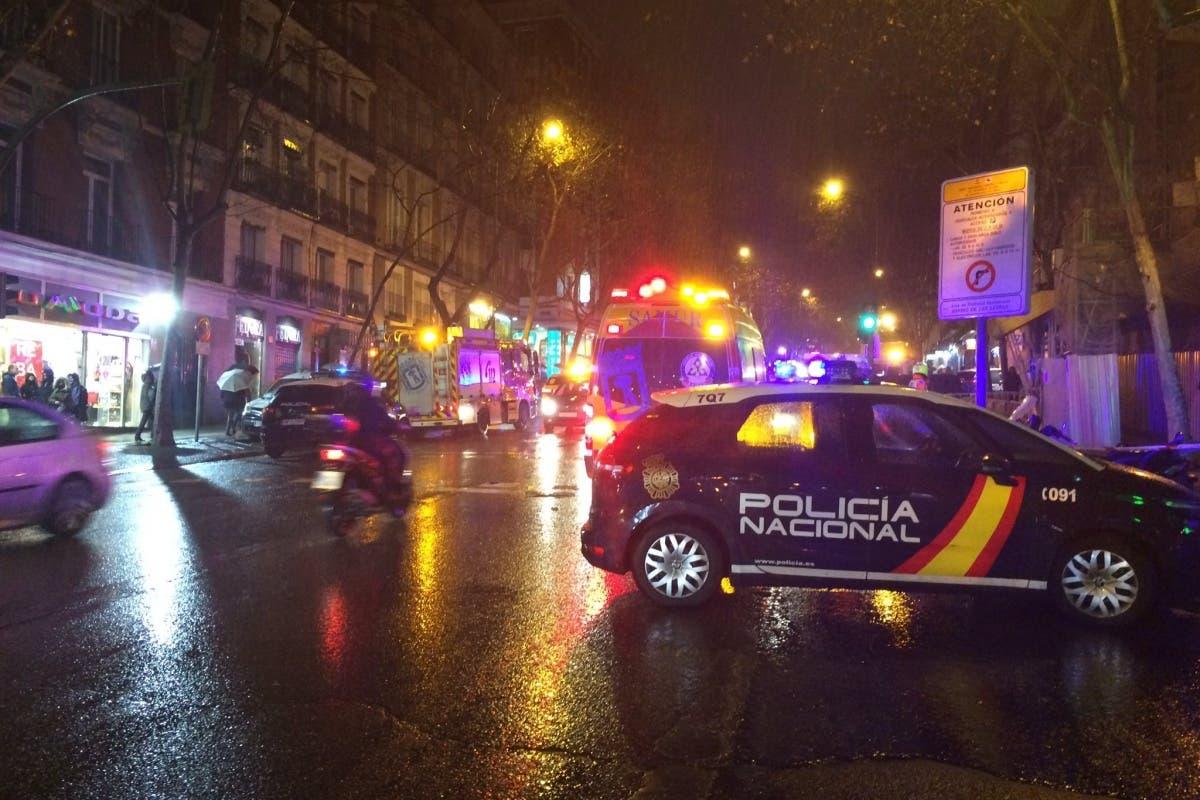 Muy grave un niño de 15 años tras caer desde una altura de 9 pisos en Madrid