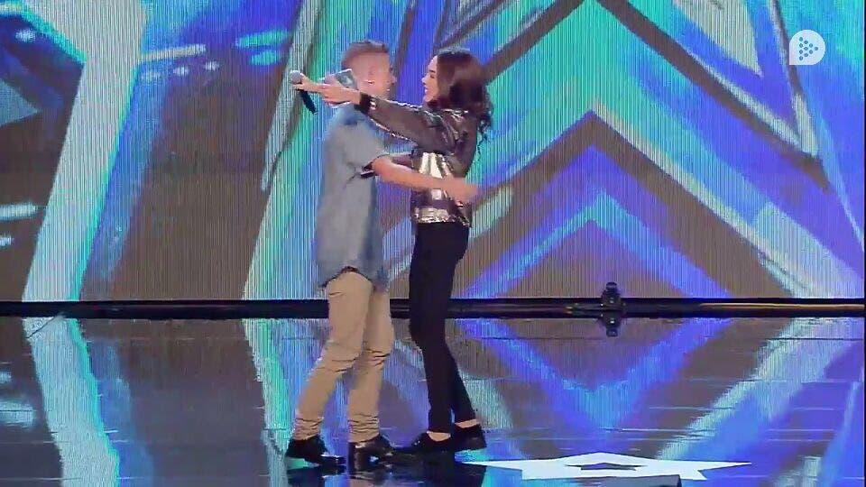 El inesperado encuentro con su musa en Got Talent (Telecinco).