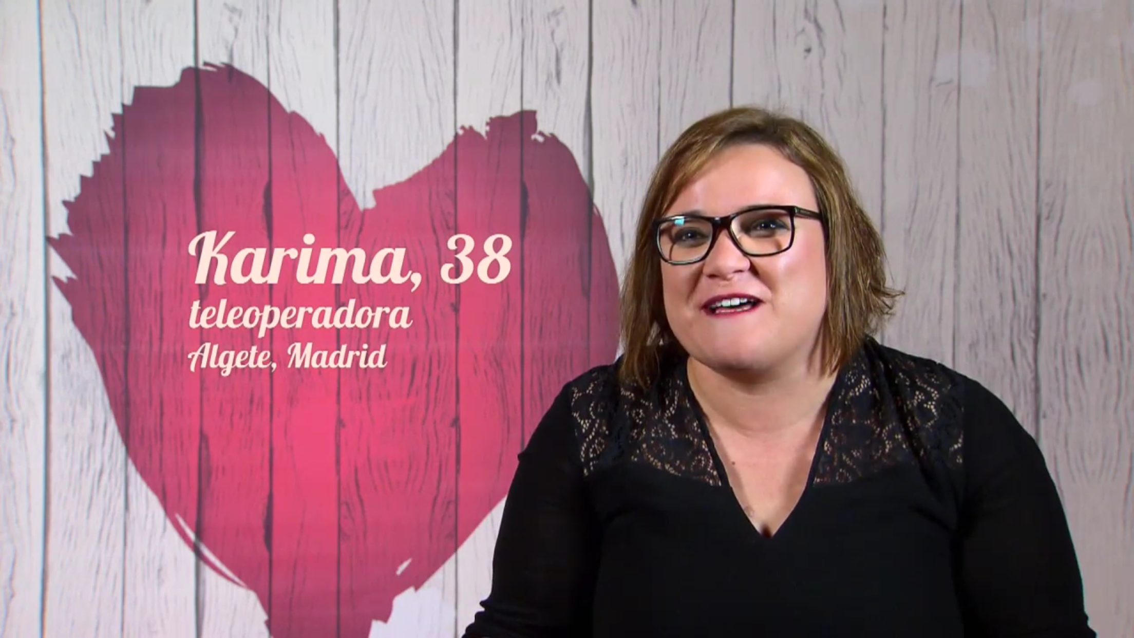 Karima en First Dates (Cuatro)
