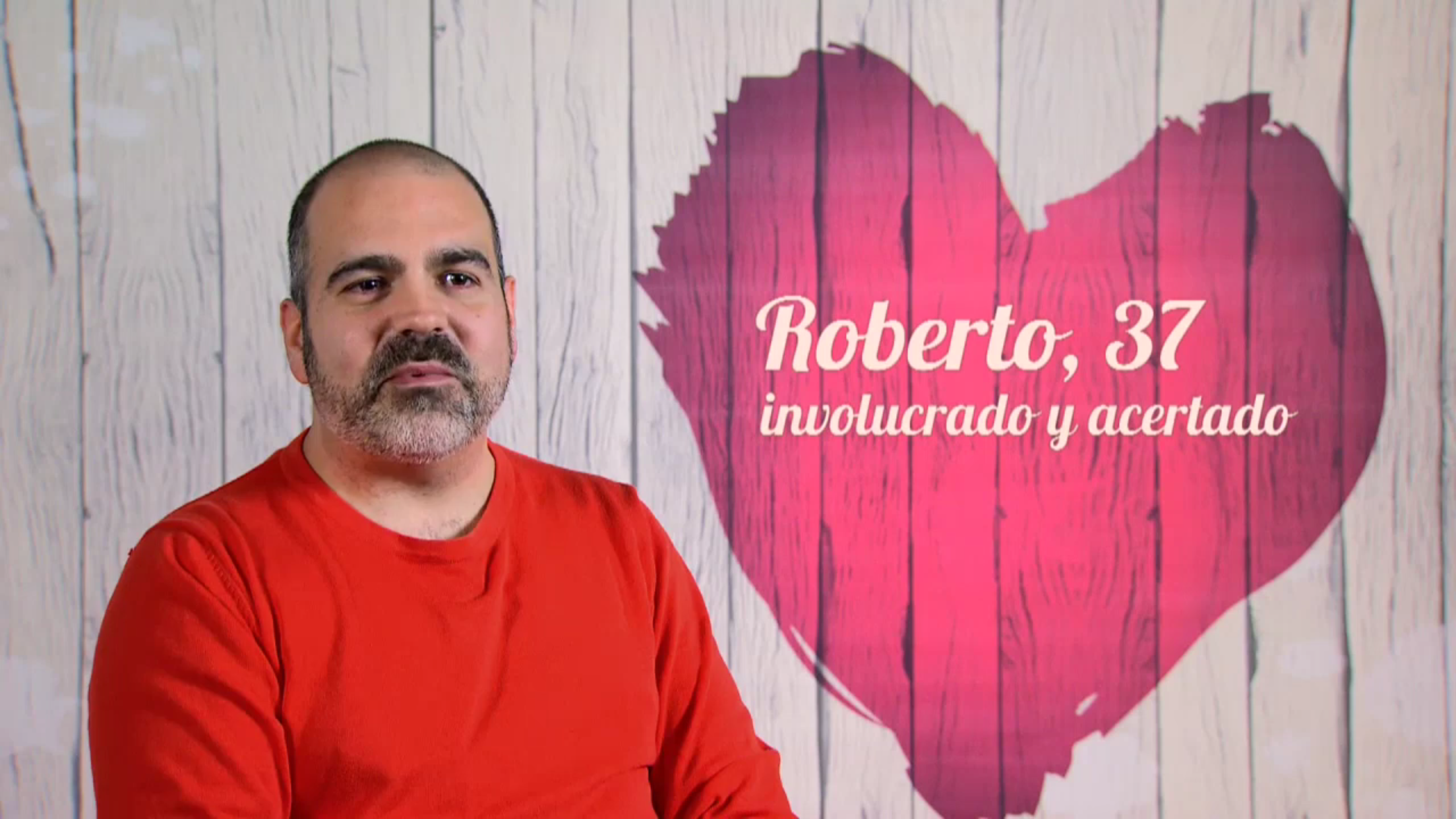 Roberto en First Dates (Cuatro).