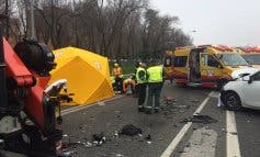 Un accidente en la A-3 deja un muerto y múltiples heridos