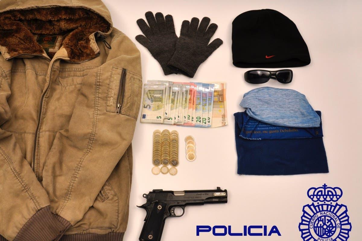 Detenido en Madrid tras cometer tres atracos en 20 minutos