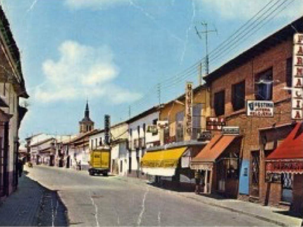 La calle Enmedio de Torrejón, historia de una fotografía