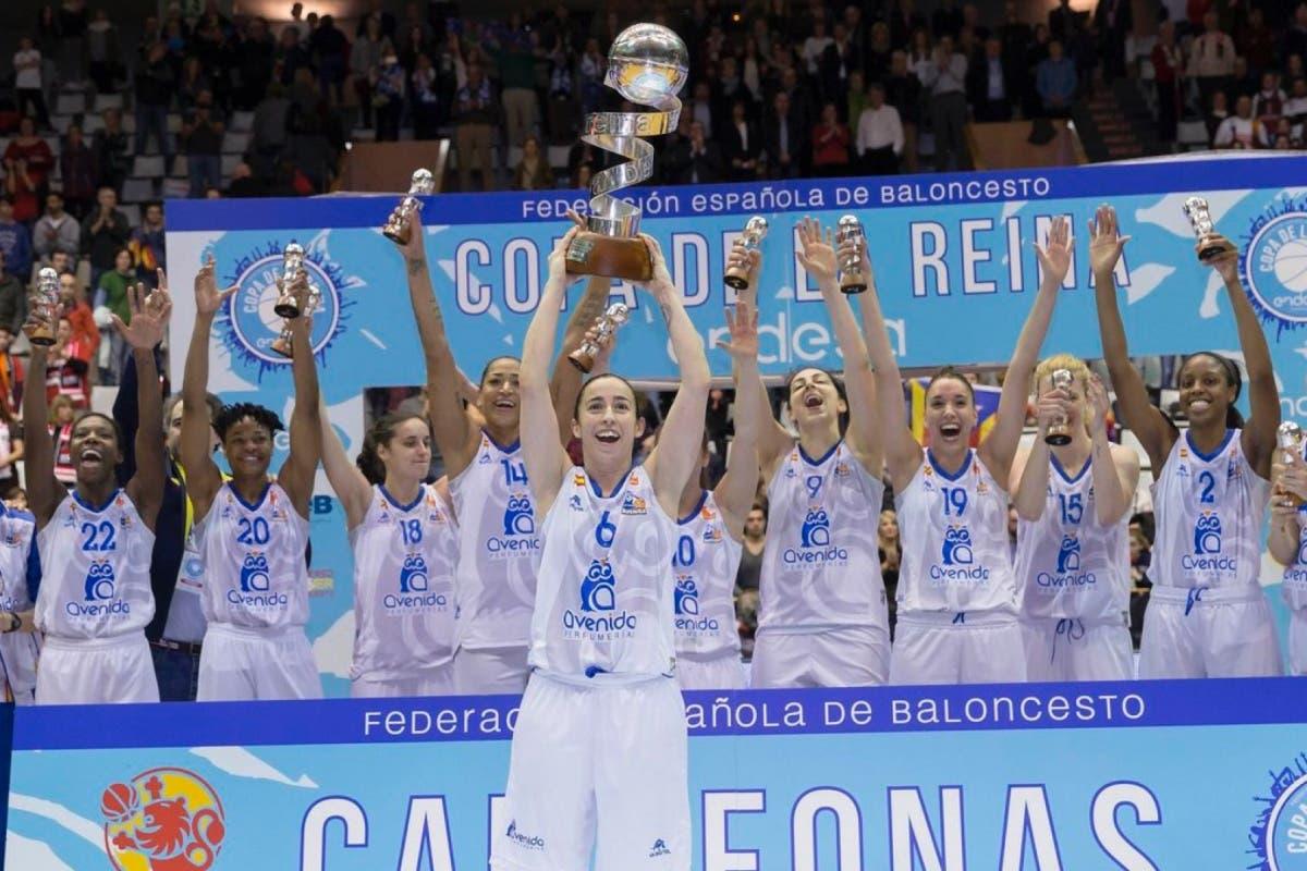 El equipo de la cosladeña Laura Quevedo, campeón de la Copa de la Reina
