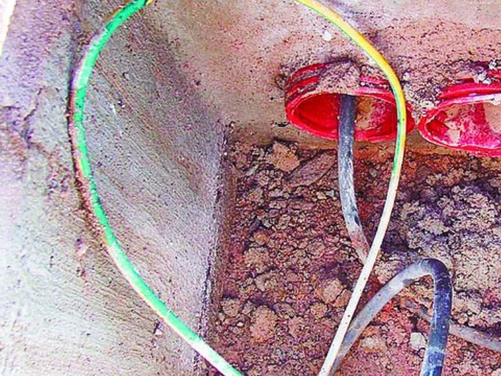 Mira la medida desesperada que han tomado en Pioz contra los ladrones del cobre