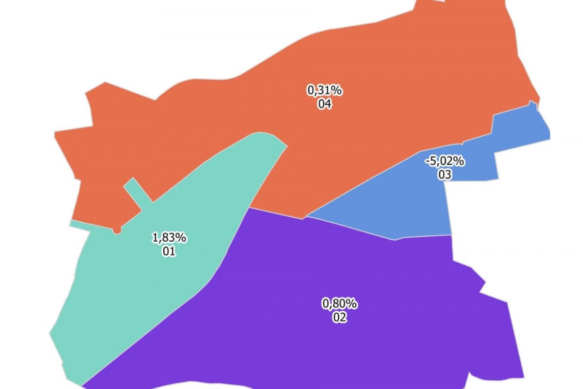 El Casco-Barrio del Puerto, donde más ha subido el precio de la vivienda en Coslada