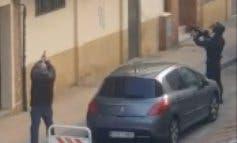 Espectacular detención policial en San Fernando de Henares
