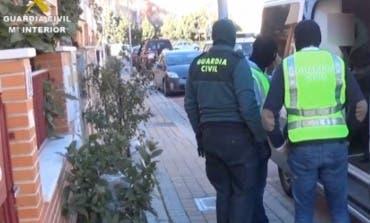 Cae una banda violenta de colombianos que robaban viviendas en Algete y Arganda