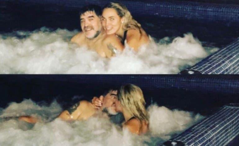 La Policía acude a un hotel de Madrid por una supuesta agresión de Maradona a su novia