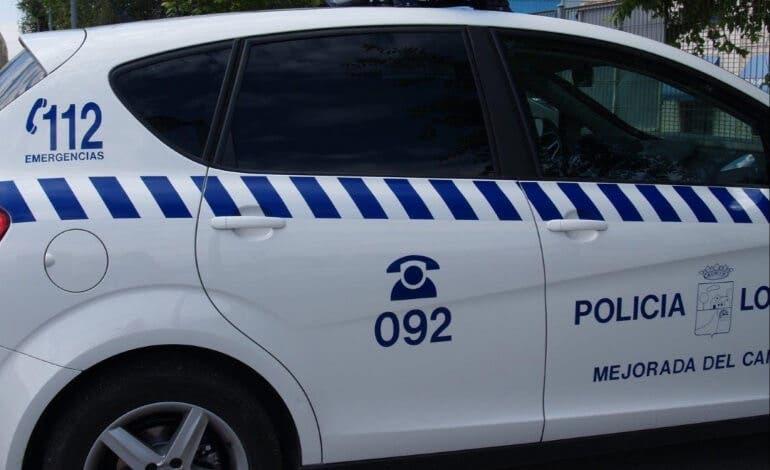 Detenido en Mejorada por atentado contra agentes de la autoridad