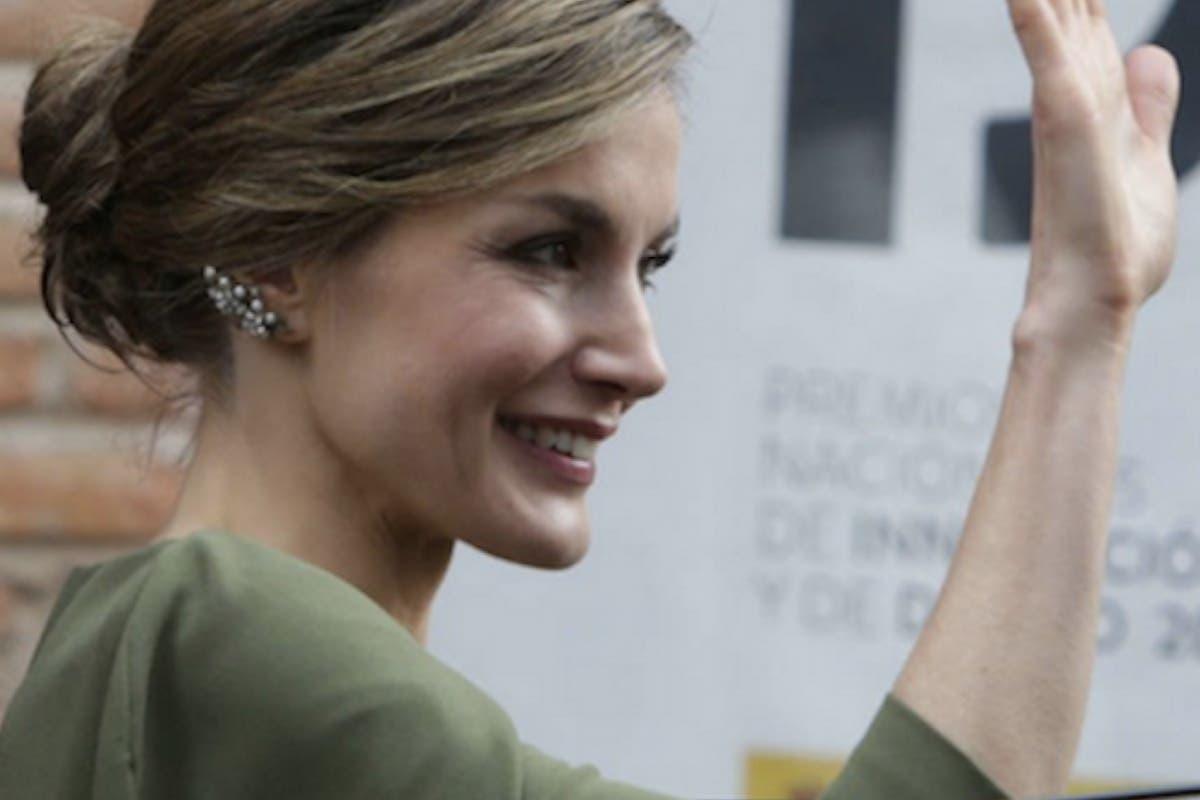 El vestido de la Reina en Alcalá del que todo el mundo habla
