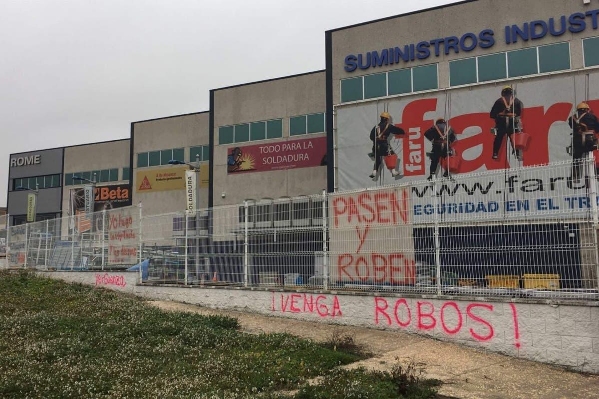 Detenidos en Torrejón dos hermanos acusados de varios robos a empresas de Ajalvir