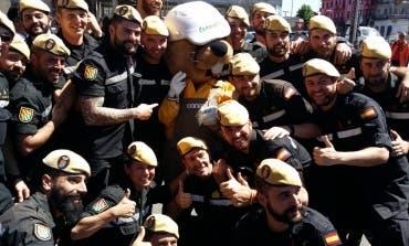 La UME de Torrejón, despedida en Chile por todo lo alto, entre aplausos