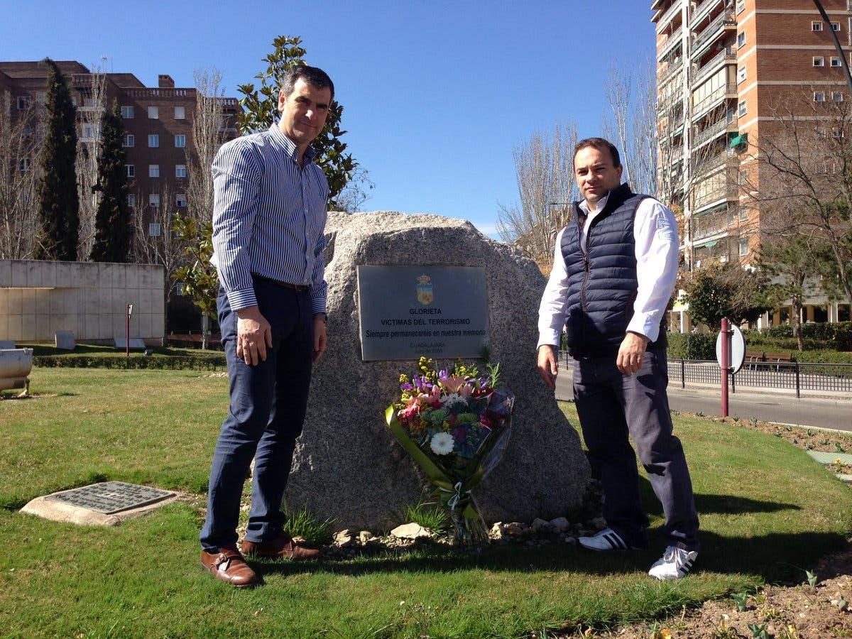 Homenaje en Guadalajara (Ayto. Guadalajara).