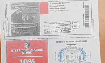 Ofrecían entradas falsas para ver el Atlético-Barcelona