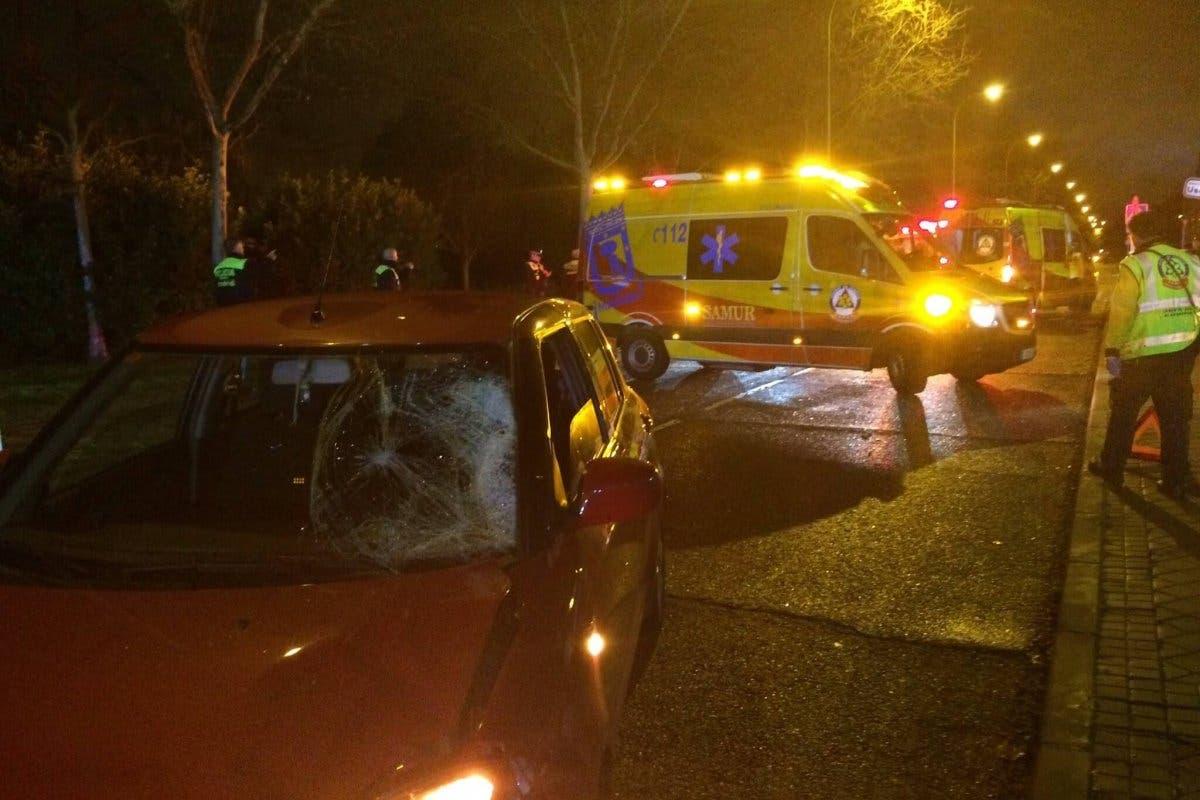 Atropello en Madrid, tres menores heridas, una de ellas muy grave