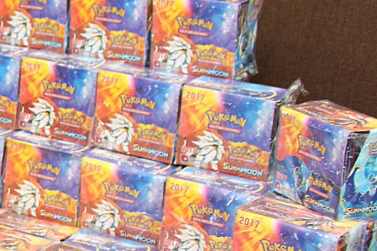 Incautan más de 70.000 cartas de Pokémon falsificadas