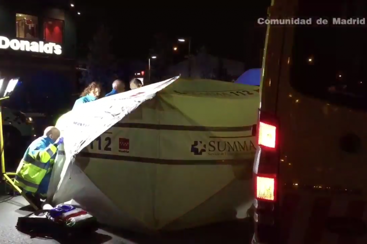 Muere tiroteado en plena calle en Fuenlabrada