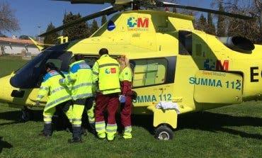 Muy grave un motorista de 26 años en un accidente en Madrid