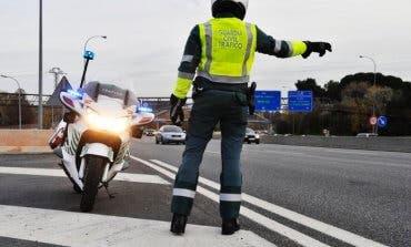 Detenido un motorista en Guadalajara por ir a 208 km/h en un tramo de 100