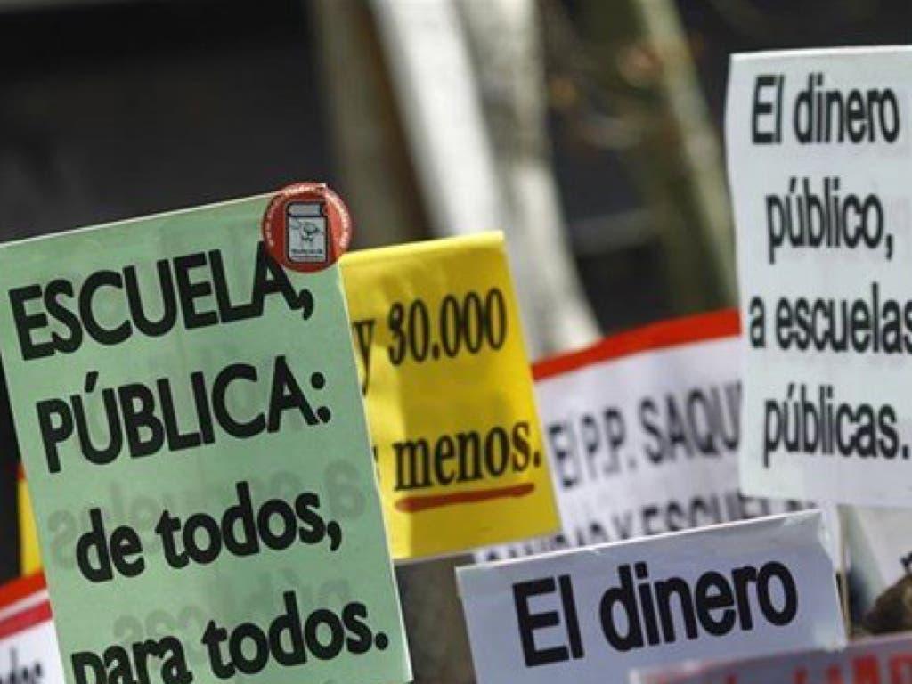 La Policía interviene por piquetes violentos durante la huelga de estudiantes en Madrid