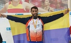 Juanjo Crespo, el atleta de Torrejón que llegó a la meta con una sola zapatilla