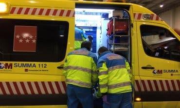 Muy grave un joven de 27 de años tras ser arrollado por un camión en Madrid