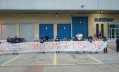 Sustituyen por otros trabajadores a los huelguistas de MRW Coslada