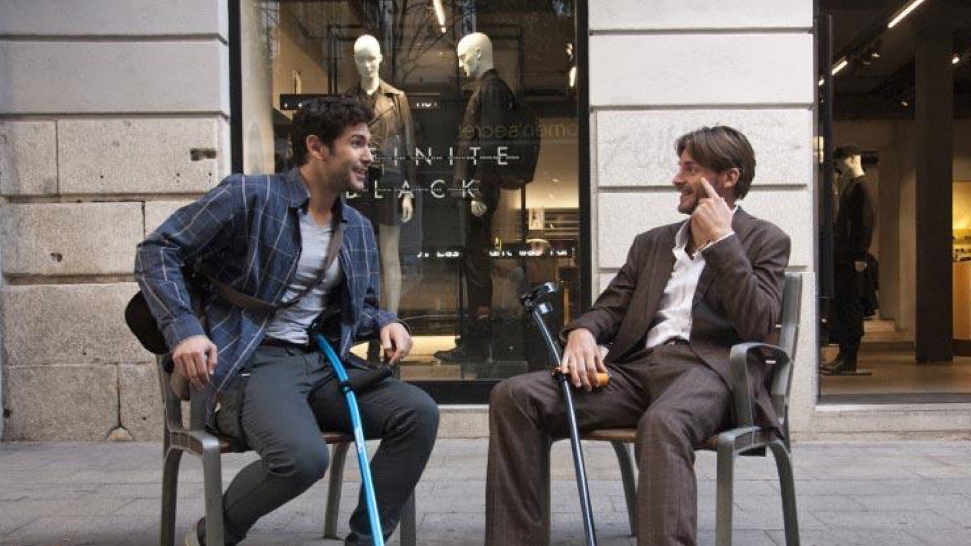 Miguel Capiello y Rafael Vidal Rodríguez (derecha), de la empresa