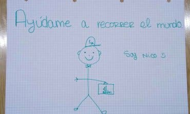 Nico, el dibujo que ha dado la vuelta al mundo desde Torrejón