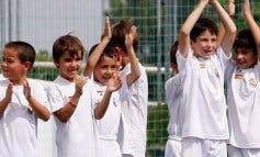 La Caixa y el Real Madrid ofrecen becas de fútbol educativo para 80 niños y niñas de Torrejón