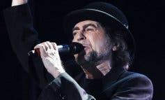 Joaquín Sabina se cae del escenario en pleno concierto en Madrid