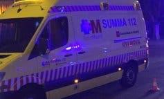 Muy grave un motorista de 22 años tras colisionar contra un coche