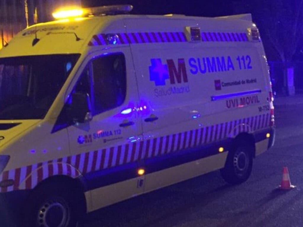 Dos heridos en Coslada por la deflagración de una lámpara de etanol