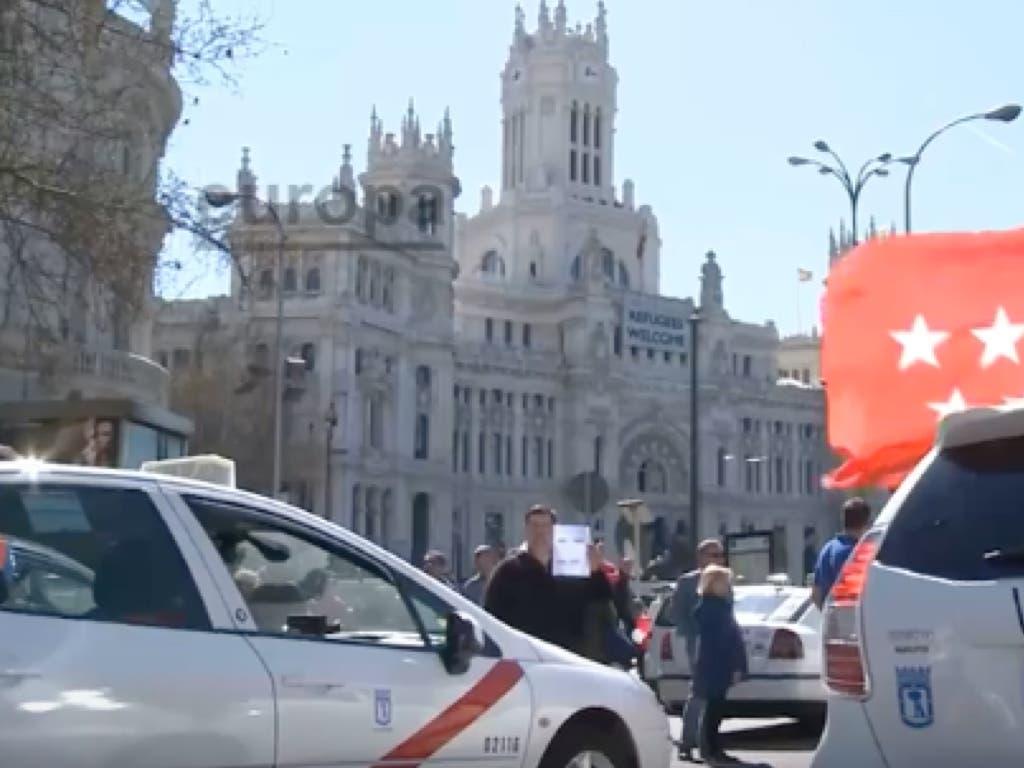 Fin a la huelga de taxis en Madrid y otras ciudades españolas
