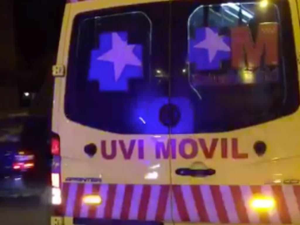 Un hombre de 39 años recibe varias puñaladas en Madrid
