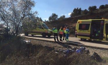 Muere un motorista de 41 años en Villar del Olmo