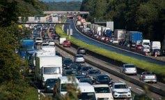 Las carreteras madrileñas presentan hasta 40 kilómetros de retenciones