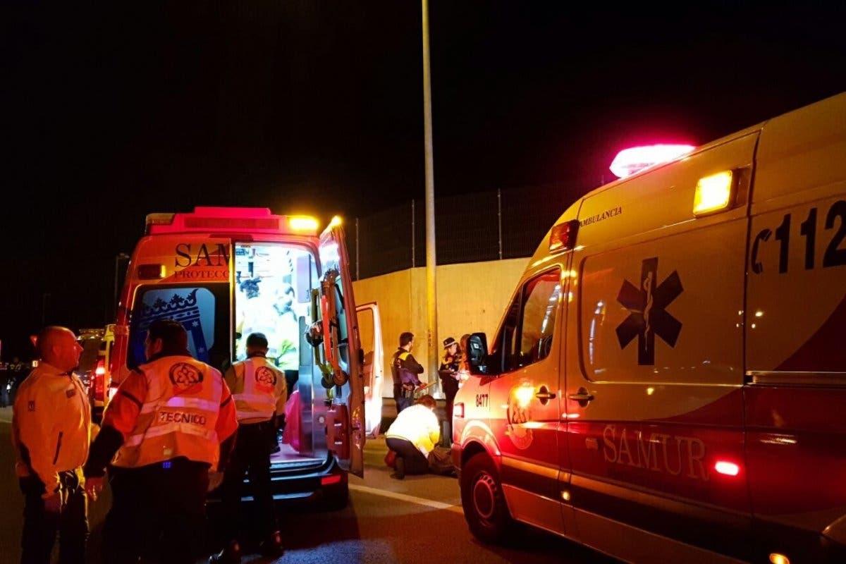 Muere un hombre y otro resulta herido grave en un accidente de moto en Barajas
