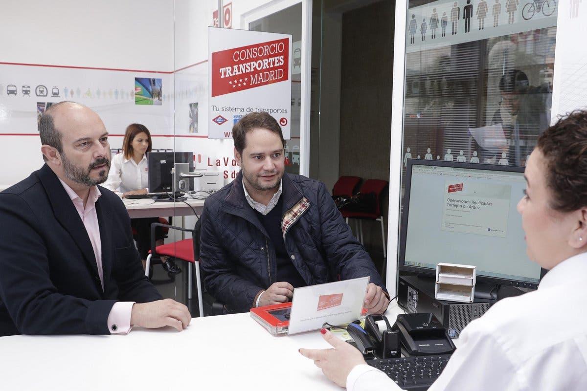 Torrej n estrena oficina de gesti n del transporte p blico for Oficina de empleo de torrejon de ardoz