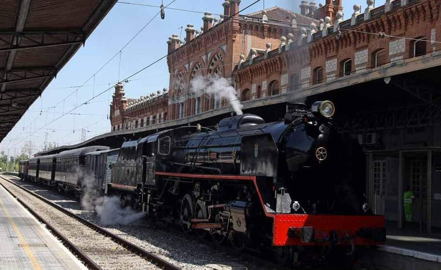 Regresa a Madrid el Tren de la Fresa